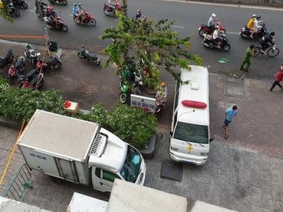 TP.HCM: Hai cô gái trẻ tử vong, nghi rơi lầu cao chung cư