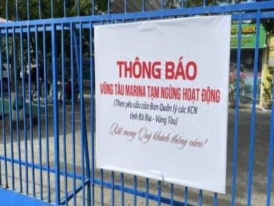 Bến du thuyền Marina Vũng Tàu bị dừng hoạt động vô thời hạn, mất mát lớn cho nghành du lịch.