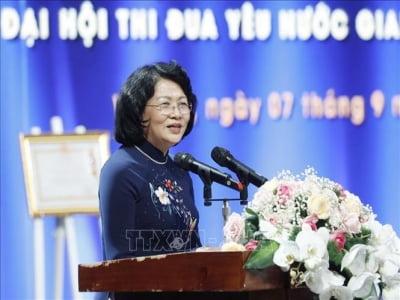 Phó Chủ tịch nước dự Lễ kỷ niệm 50 năm Ngày VTV phát sóng chương trình truyền hình đầu tiên