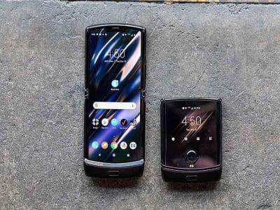 Cận cảnh chiếc điện thoại Motorola Razr 5G chính thức ra mắt