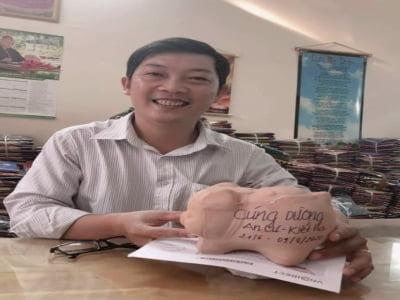 Thầy giáo Lê Đăng Khoa giàu lòng thiện nguyện