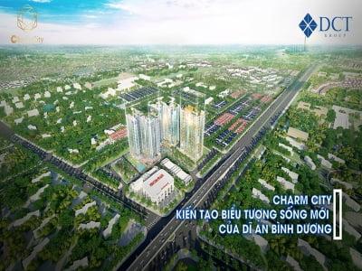 Giới thiệu dự án căn hộ Charm City- Bình Dương