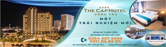THE CAP HOTEL - VŨNG TÀU MỘT TRẢI NGHIỆM MỚI