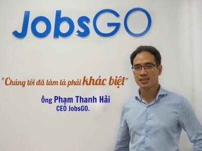 JobsGO: Trao cơ hội việc làm tận tay người lao động mọi lúc, mọi nơi