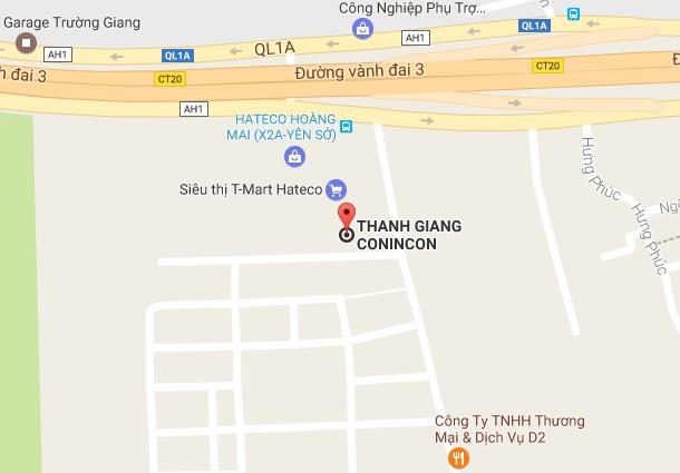 Bản đồ vị trí công ty